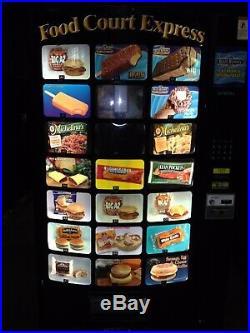 60DayW Refurbished $5 MDB Fast Corp Z400 Frozen Food Ice Cream Vending Machine