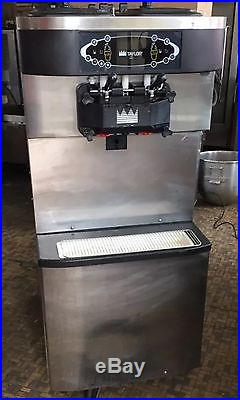 6- 2011 TAYLOR C713-33 SOFT SERVE ICE CREAM MACHINES Air COOLED