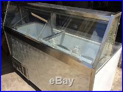 6' Ice Cream Dip Cabinet from Baskin Robbins Store, 12 Tubs, Sharp! 1 yr. Old