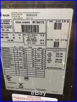 6 units 2011 Taylor 794-33 Soft Serve Frozen Yogurt Ice Cream Machine