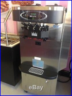 7 AIR COOLED Taylor C723-33 Frozen yogurt Soft Serve Ice Cream Machine