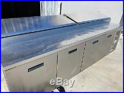 84111N Randell Used Refrigerated Pizza Prep Table