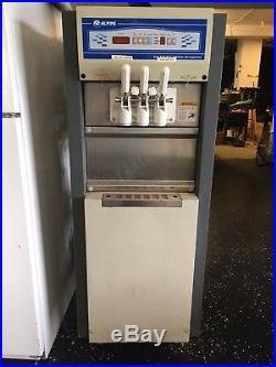 Alpine Yogurt, soft serve ice cream machine