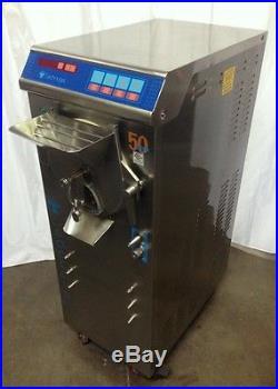 Batch Freezer, Technogel Mantegel 50, Commercial Gelato Maker, Ice Cream Machine