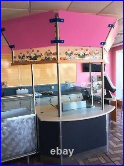 Baskin Robbins Ice Cream Store Equipment Pkg. Complete, Warrantied, Ready