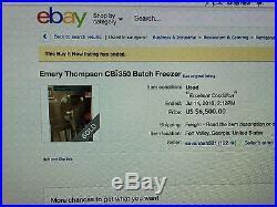 Batch freezer by Emery Thompson