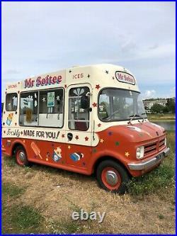 Bedford CF1 Classic Electrofreeze Ice cream van with Carpigiani machine