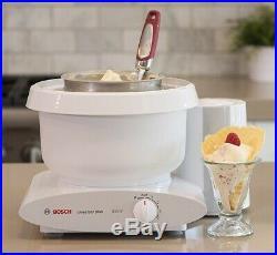 Bosch Universal Plus 800 W 6.5 Qt Kitchen Stand Mixer Machine with Ice Cream Maker