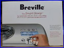 Breville BCI600XL Smart Scoop Ice Cream Machine Automatic Ice Cream Maker