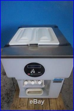 Carpigiani Ice Cream Soft Serve Freezer Counter Top 3 Head Gravity Counter Top