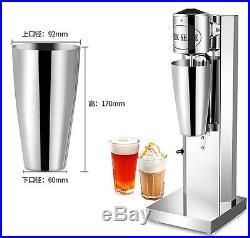 CE Soft Ice Cream Speed Mixer Milkshake Cyclone Machine Commercial/Household Use