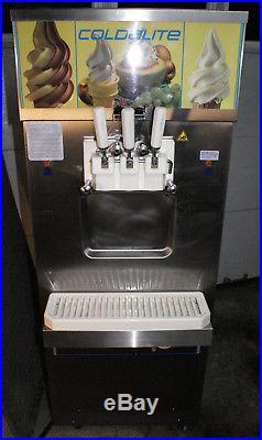 COLDELITE Carpigiani UF-213 SOFT SERVE ICE CREAM Frozen Yogurt Freezer MACHINE