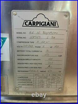 Carpigiani 8 pan Ice Cream/Gelato Display Dipping Cabinet