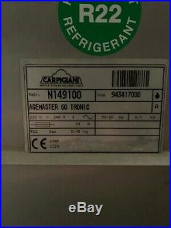 Carpigiani Agemaster 60 Tronic for gelato and ice cream base 1ph air