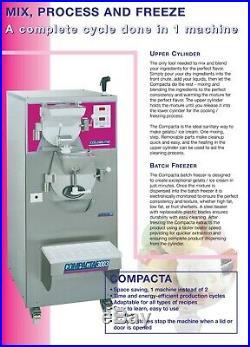 Carpigiani Coldelite Compacta 3001 Gelato Machine Ice Cream Batch Freezer