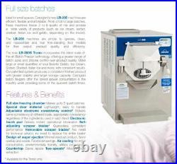 Carpigiani LB200G Gelato, Ice Cream Freezer, air-cooled, 2 speed, 10 qt Capacity
