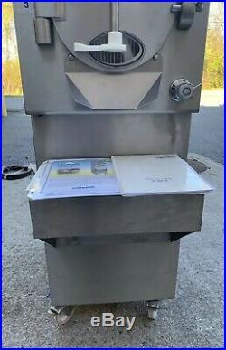 Carpigiani LB 202 G RTX Batch Freezer Gelato Ice Cream 3 phase Water Cooled