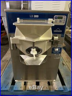 Carpigiani Lb200 Tronic G Aircooled Gelato Ice Cream Batch Freezer