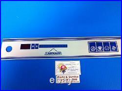 Carpigiani Parts Batch Freezer Gelato Ice Cream Touch Panel Decal LB302 Decal
