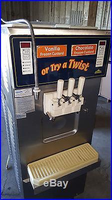 Carpigiani UF 253 Soft Serve Twist Ice Cream Frozen Yogurt Machine Coldelite