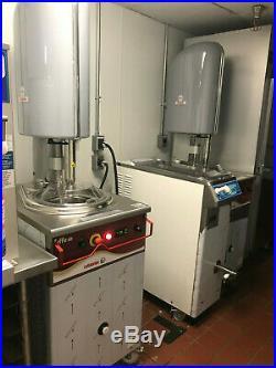 Cattabriga Effe Vertical Gelato Batch Freezer