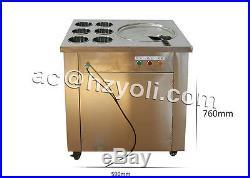 Cheap fry ice pan machine fried ice cream machine ice cream roll making machine