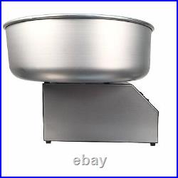 Classic floss cotton candy machine metal bowl, paragon candy floss, commercial