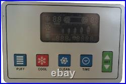Commercial 110V 3 Flavor Soft Serve Ice Cream Freezer Machine 20-30L/H Vertical