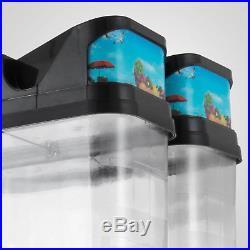 Commercial 2 Tank Frozen Drink Slush Slushy Make Machine Smoothie Ice Maker 110V