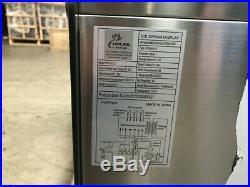 Commercial 6 pan Counter top Gelato Showcase Ice Cream Freezer Display