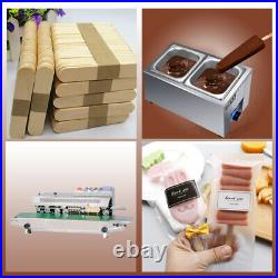 Commercial 6 slim mold sets popsicle machine, ice pop machine, ice lolly machine