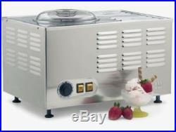 Commercial Batch Desert Yogurt Gelato Ice Cream Maker Machine Stainless Steel