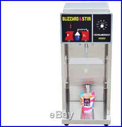 Commercial Electric Auto Blizzard Ice Cream Machine Maker Shaker Blender Mix my@