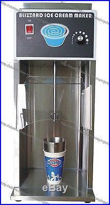 Commercial Electric Auto Blizzard Ice Cream Machine Maker Shaker Blender Mixer