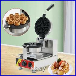 Commercial Electric Nonstick Ice Cream Waffle Cone Baker Maker Machine HOT SALE