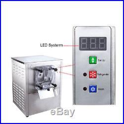 Commercial Frozen Hard Ice Cream Machine Maker 20L/H 110V Stainless Steel US