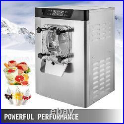 Commercial Frozen Hard Ice Cream Machine Maker 20 L/H Yogurt Ice Cream Maker