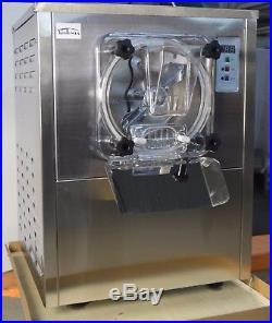 Commercial Hard Ice Cream Machine 110V Countertop Frozen Ice Cream Maker 1Flavor