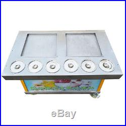 Commercial Ice Cream Maker Machine Fried Ice Cream Machine 110V