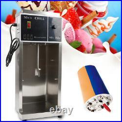 Commercial Ice Cream Mixer Milkshake Maker Blender Frozen Dessert Machine 110v