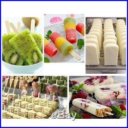 Commercial Ice Cream Stick Ice Lolly Machine Popsicle Maker 40pcs/set Mold