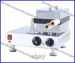 Commercial Nonstick Electric Ice Cream Taiyaki Machine Fish Waffle Maker Baker