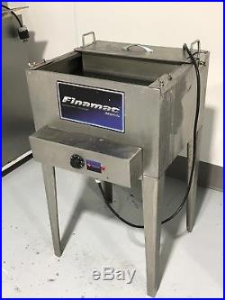 Commercial Popsicle Machine Finamac Turbo 8, Mixer 15, Sealing and Unmold Machine
