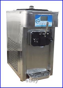 Commercial Single Flavor Soft Ice Cream Machine Ice Cream Maker Frozen Equipment