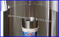 Commercial Soft Ice Cream Maker 750W ice cream Shaker Mixer Blender machine