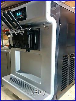 Commercial Soft Serve Ice Cream Frozen Yogurt Machine