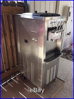 Commercial Soft Serve Ice Cream Frozen Yogurt Machine 2 year warranty