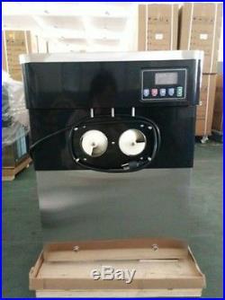 Commercial Soft Serve Ice Cream Machine Frozen Yogurt Machine18L/H 110V 220V