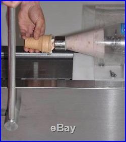 Commercial stainless yogurt&fruit blender ice cream machine 110V