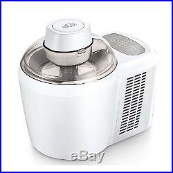 Cooks Essentials 1.5 Pt Electric Ice Cream Maker Machine (Certified Refurbished)